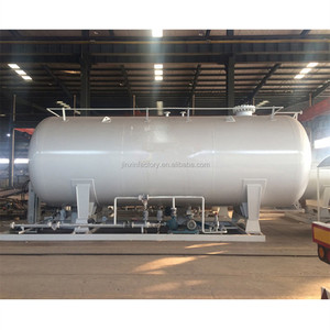 ISO certification 5m3 lpg gas filling station LPG skid filling plant