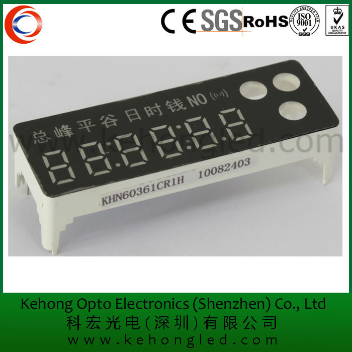 0.36'' 7 segment green 6 digits induction cooker led display