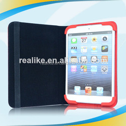 good quality handmade rock leather case for ipad mini