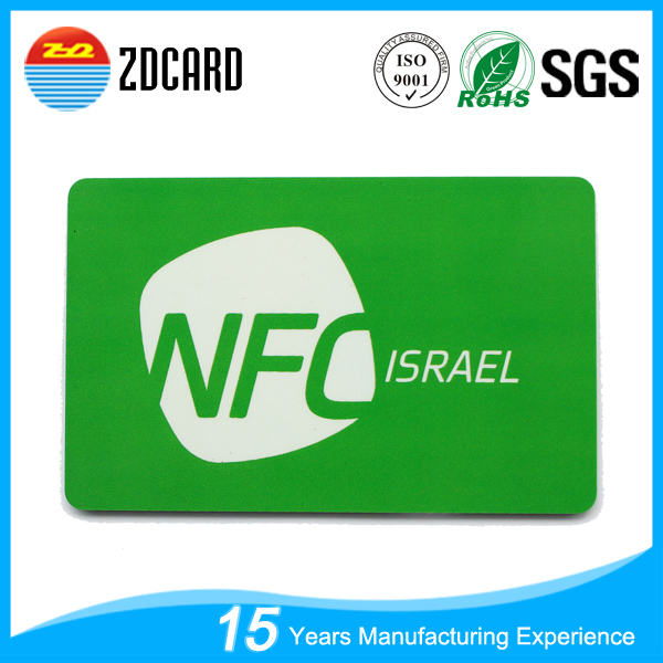Contactless 13.56MHz RFID Door Control Smart Entry Access Card for office