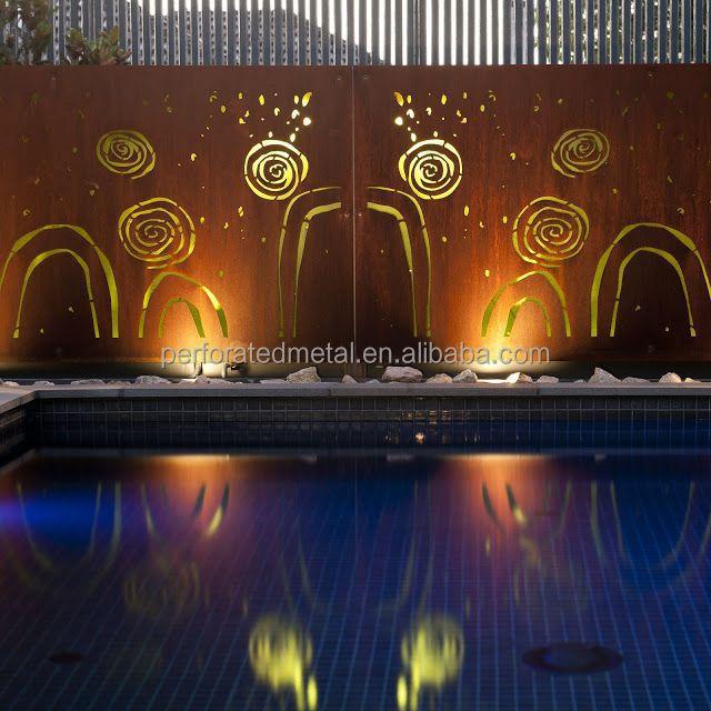 Corten Steel Garden Screen Art Buy Corten Steel Garden Screen Art Metal Hanging Garden Art