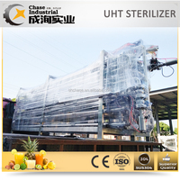 High Quality Fruit Uht Sterilizer system for fruit juice paste