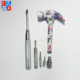 Mini 6 in 1 multi purpose fancy design lady's hammer floral hammer