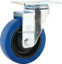 Indurstial Blue Rubber Caster Castor Wheels
