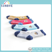 Wholesale lot of kid terry socks top quality no tight infant socks fit winter