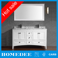 American Style Lowes Double Sink Wholesale Vanity Made In China
