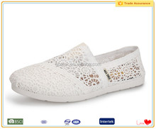 Plain white breathable china online shopping pakistan women wear shoes
