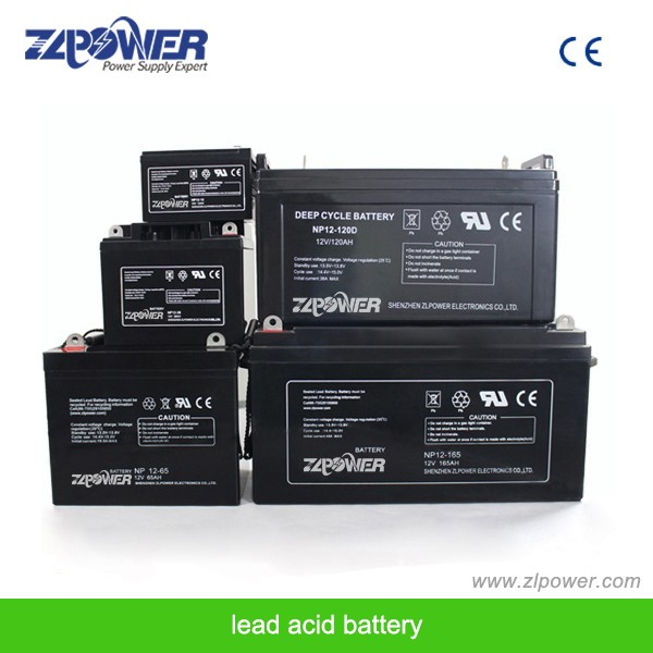12V 75AH deep cycle solar gel battery