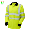 2016 Wholesale Yellow Reflective Safety Polo