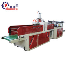 SS-DFR T-shirt Plastic Sealing And Cutting Bag Making Machinery