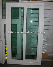 2 track PVC sliding window