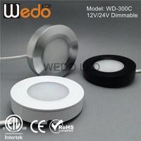 WD-300C UL 24v led puck under counter light