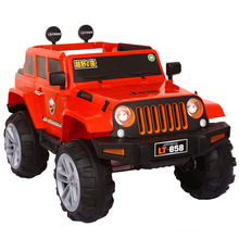 4 motors electric jeep toy cars for kids/quality toy car for big kids/best 12V kids plastic ride on car China