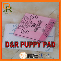 Hot sale dog pad puppy training pad with low cost pet training pads high absorbent material