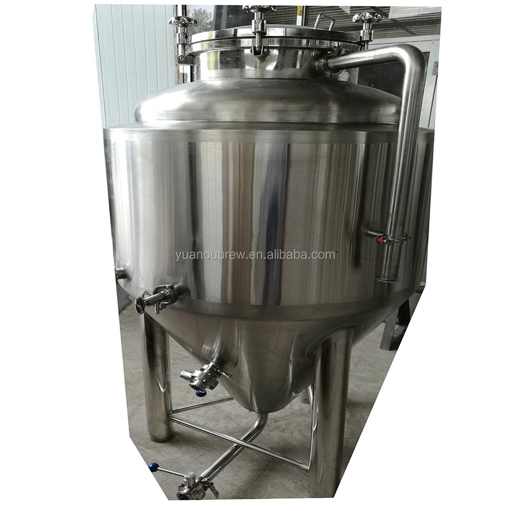 Brewery machinery 300L malt brewing system concial 60 degree beer fermenter