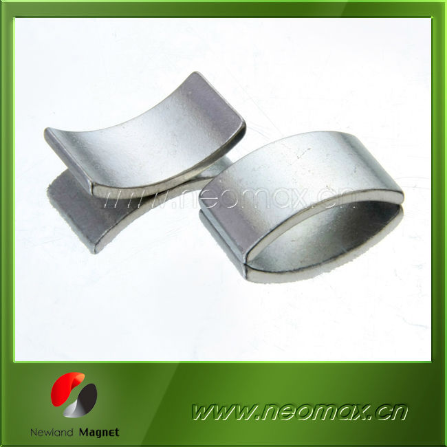 Neodymium arc magnets /Big strong segment arc magetic/Permanent Arc Motor Magnet