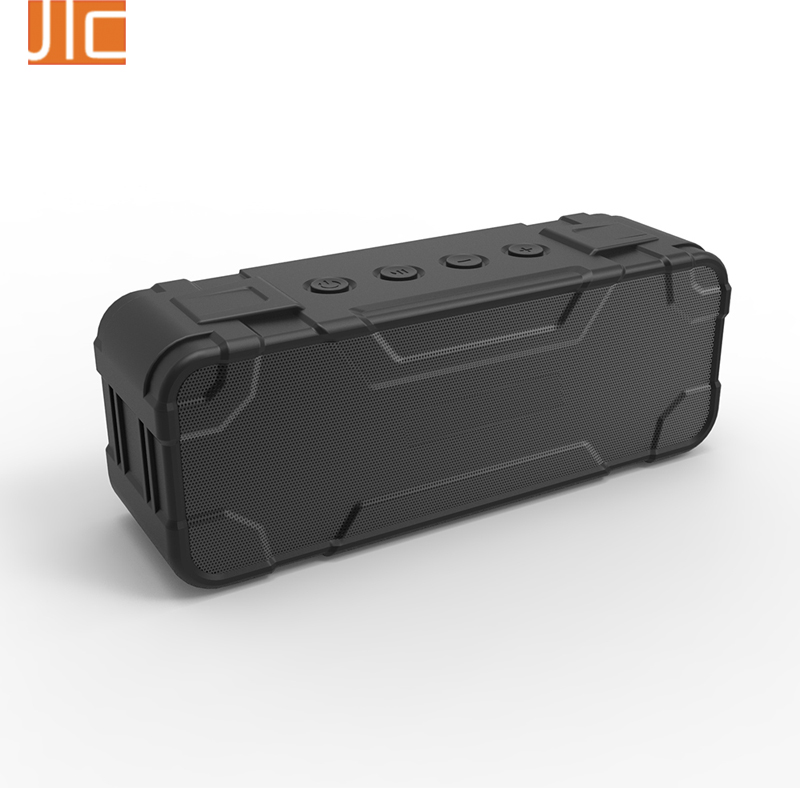 2017 China Factory 30W 4400mAh rechargeable waterproof portable bluetooth speaker with AUX & MIC & TF card slot