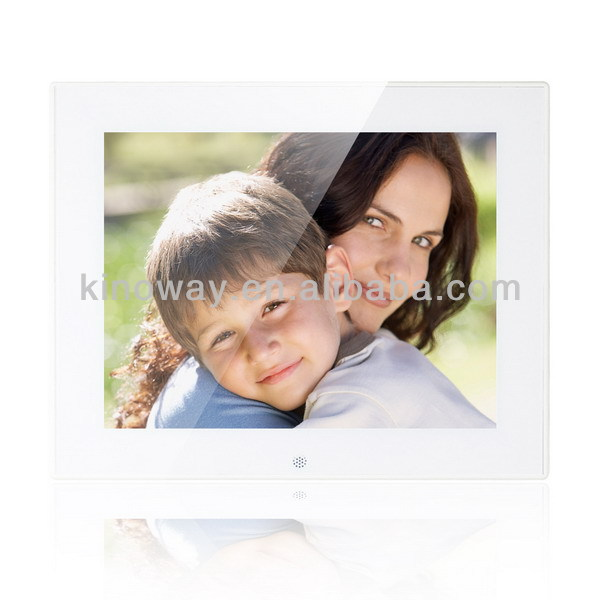 Children gift 8inch digital photo frame with mp4 hot videos free download