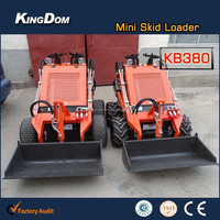 Loading Machine Wheel Mini Skid Steer Loader