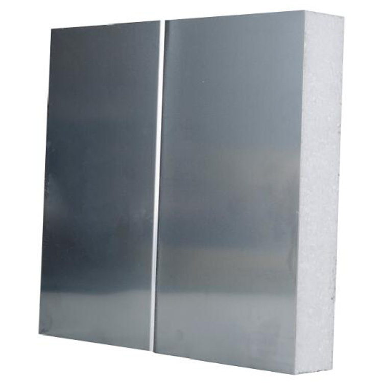 Color steel or stainless steel eps wall sandwich panel