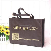 cheap price folding pictures printing non-woven polypropylene tote shopping bag