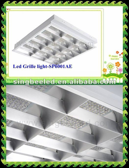 35W grid light led for office lighting CE/RoHS dialux IES