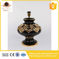High end Customized newly ceramic outdoor lamp holder for decorate
