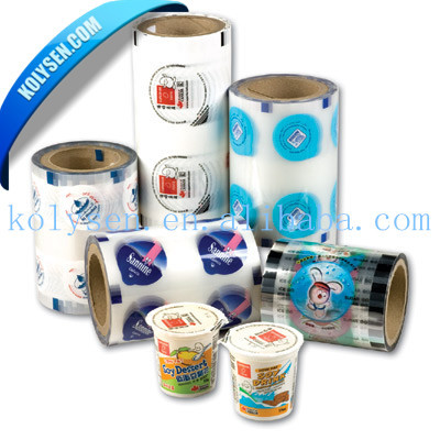 KOLYSEN cup lid sealing film for jelly packaging