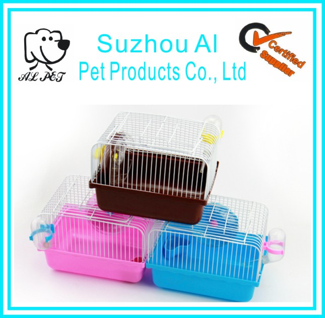 New Hot Selling Portable Plastic Hamster Mouse Cage