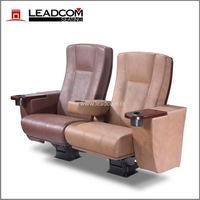 (LS-10602) China Leadcom luxury rocking cinema seat leather upholstery