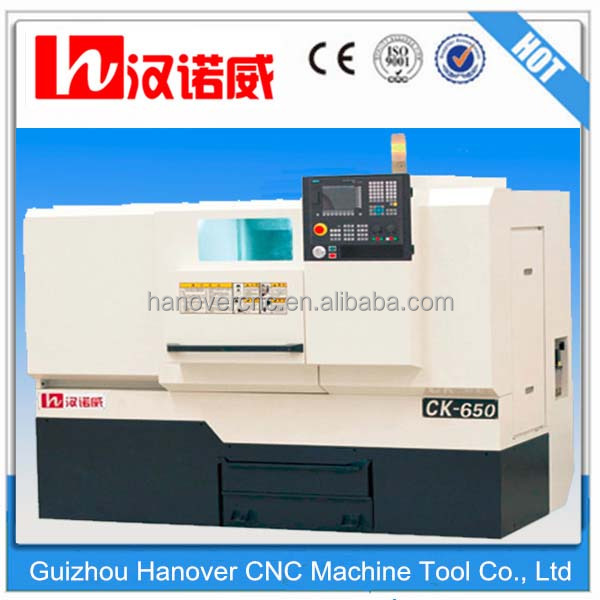 CNC Lathe Mahicnes price Hot sale CK650 Hoizontal CNC lath machine with best quality