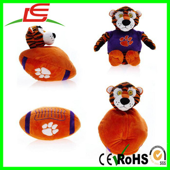 College Reversapals clemson tigers reverse-a-pal plush toy
