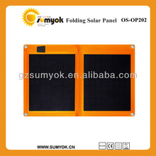 20W New energy solar product solar charger germany solar panels, foldable solar panels