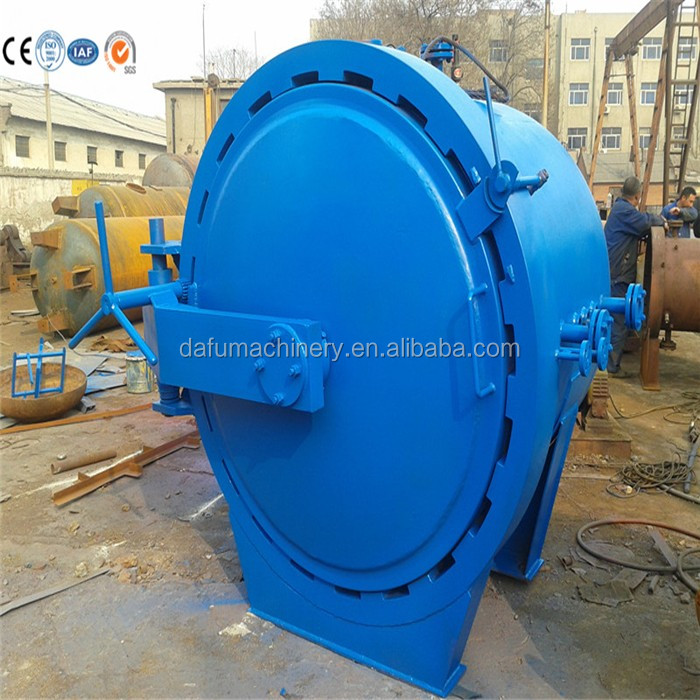 Henanzhengzhou top quality composite autoclave pressure vessel with pressure test report