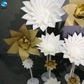 2017 hight quality new products hot sale foam flowers black for stage backdrop