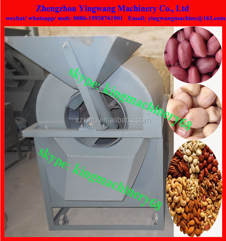 drum rotary roaster/ fryer/ baker machine