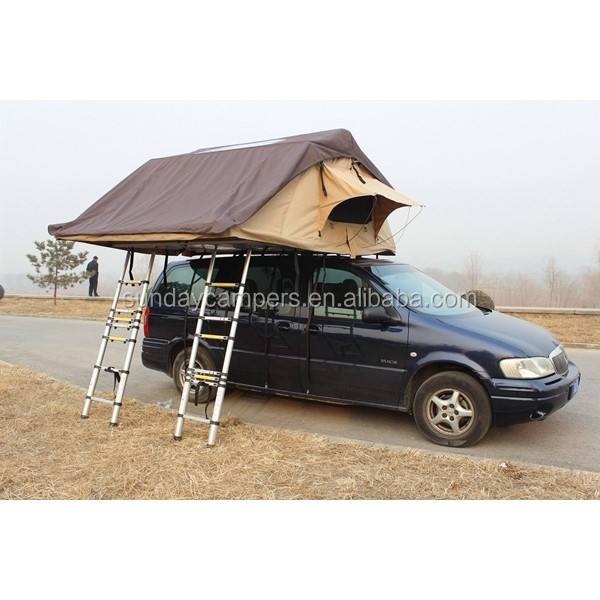 Off road vehicle metal frame car roof top bell tent for sale