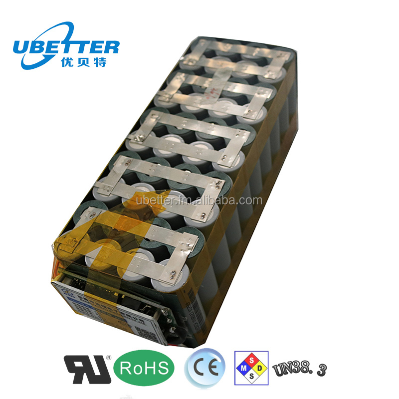 18650 36V 40ah lithium ion battery pack for E-motorcycle