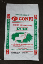 OEM plastic feed bags for animal