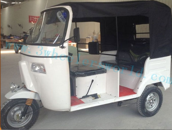Bajaj tricycle,150cc,3-passenger Taxi motorcycle,GAS/CNG bajaj style tricycle/ auto rickshaw