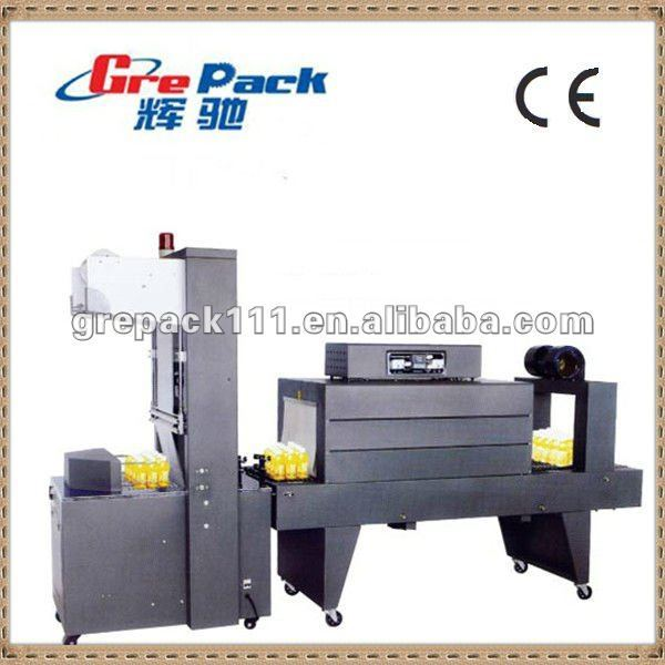 semi-automatic sleeve wrapper thermal shrink packing machine