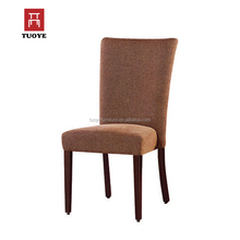 Luxury high back stacking banquet chairs with wood grain metal frame