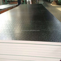 Phenolic insulation clad plate