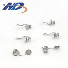 Coil Conical Battery Spring with nickle plate