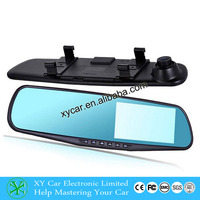 Best selling rearview mirror car dvr hd car camera 140 degree mini dash cam XY-9064