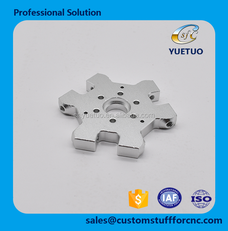 China supplier provides cheap price high quality products CNC machining customized metal for 3D printer parts