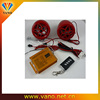 High quality motorcycle mp3 audio anti-theft alarm system