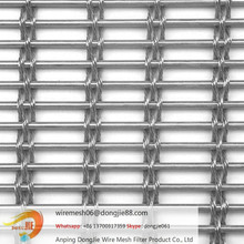 aluminum cladding expanded metal mesh/304 ss decorative wire window screen