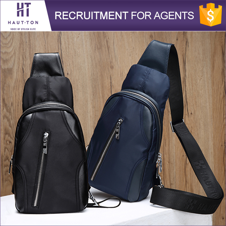 Top Selling Fashion Leisure Sport Shoulder Bag Pack New Model Professional Men Chest Bags For Sale
