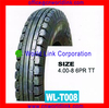 High Quality Rubber Wholesale Motorcycle Tires 4.00-8